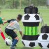 купить складную силиконовую бутылку для воды футбольный мяч