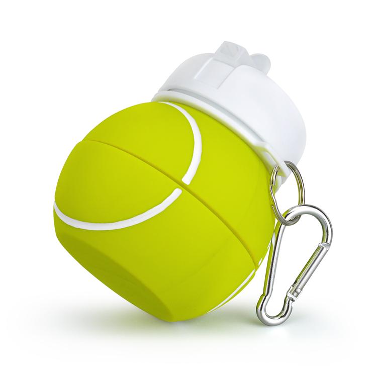 купить силиконовую бутылку для воды тенисный мячик