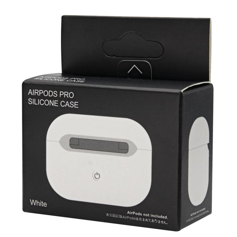 чехол на airpods pro белый фото коробка