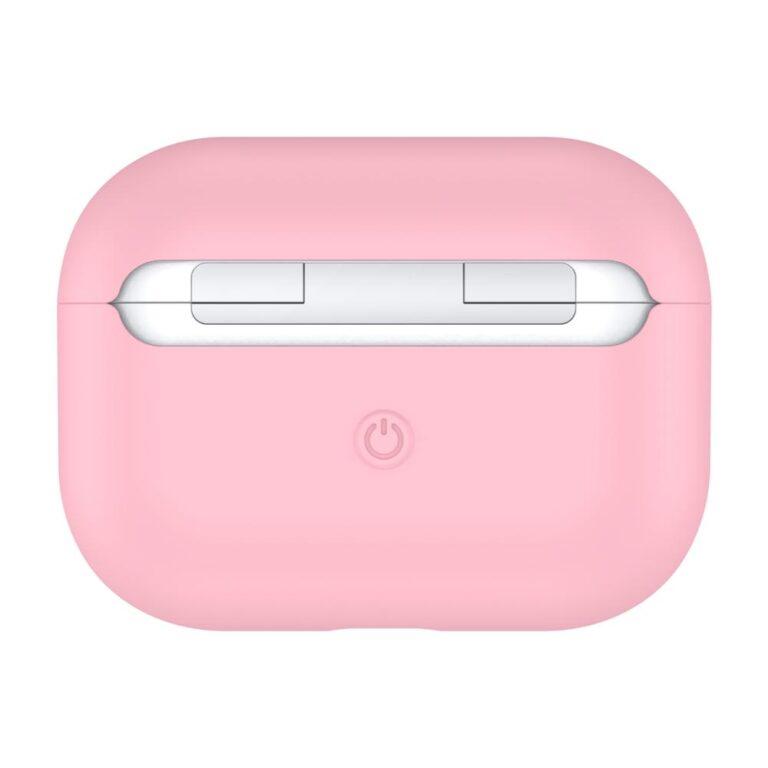 чехол на airpods pro розовый