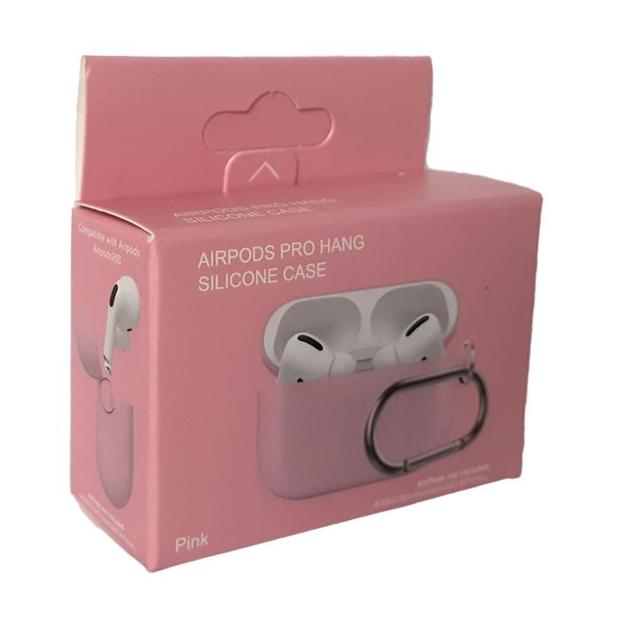 чехол для aipods pro розовый фото