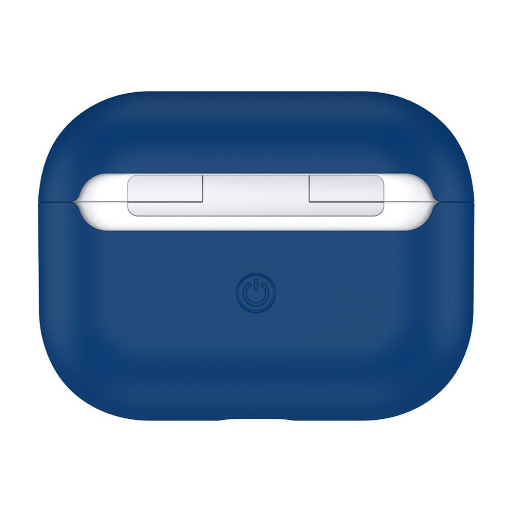 чехол на airpods pro синий