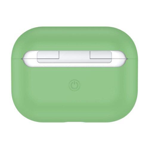 чехол на airpods pro зеленый