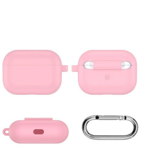 чехол для aipods pro розовый