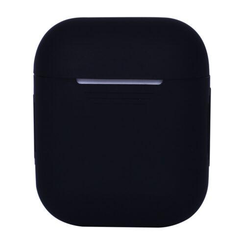 силиконовый чехол на airpods 2 черный