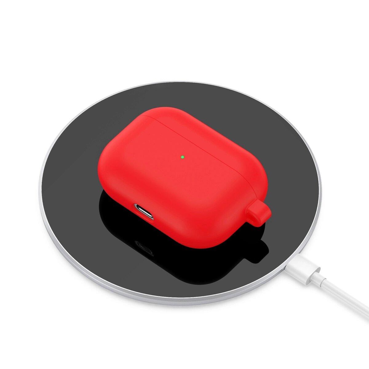 купить красный чехол на airpods pro