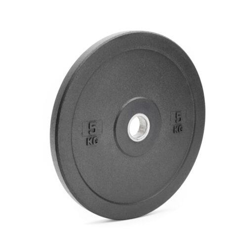 Резиновый бамперный диск 5 кг фото