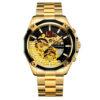 купить мужские часы Forsining GMT 1183 Gold-Black