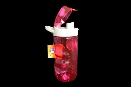 Бутылка для воды Smile SBP-2 560 мл. розовая фото 2