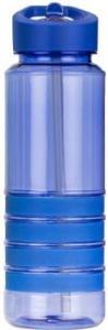 Бутылка для воды с трубочкой Smile SBP-1750 мл. голубая фото 1
