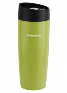 Термокружка Klausberg KB-7148 380мл. Зеленая фото 1