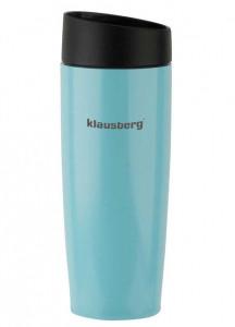 Термокружка Klausberg KB-7148 380мл. Синяя фото 1