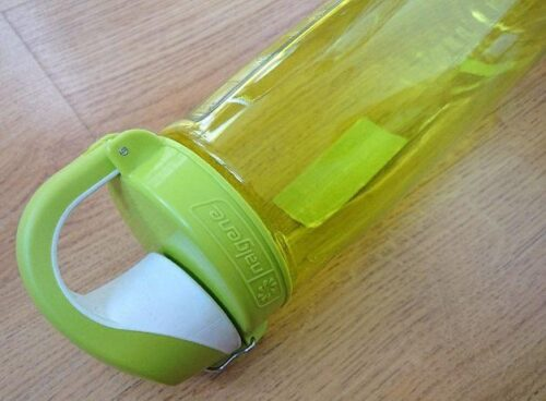 Бутылка для воды Nalgene OTF On The Fly 650 мл. зеленая фото 2