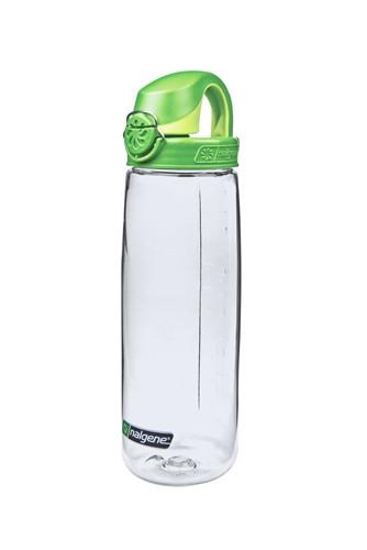 Бутылка для воды Nalgene OTF On The Fly 650 мл. прозрачно-зеленая фото 1