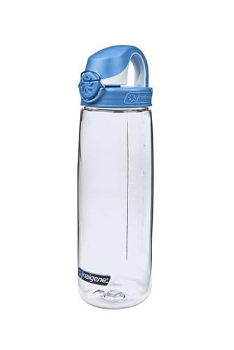 Бутылка для воды Nalgene OTF On The Fly 650 мл. прозрачно синяя фото 1