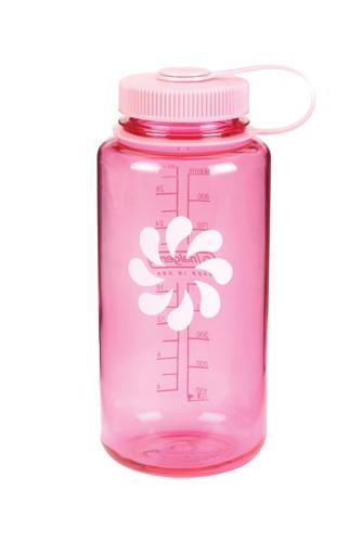 Бутылка для воды Nalgene Wide Mounth розовая 1 л. фото 1