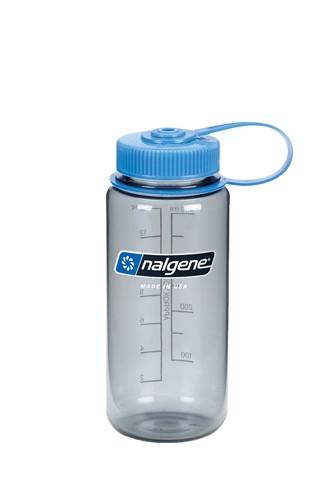 Бутылка для воды Nalgene Wide Mounth серая 500 мл. фото 1