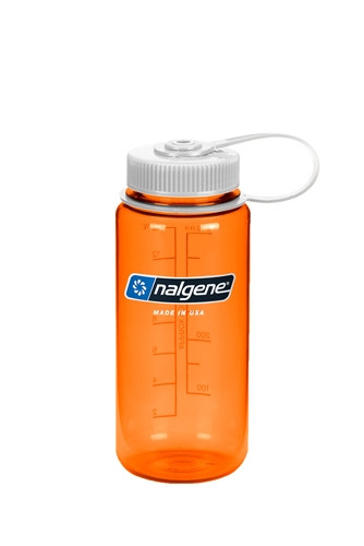 Бутылка для воды Nalgene Wide Mounth оранжевая 500 мл. фото 1
