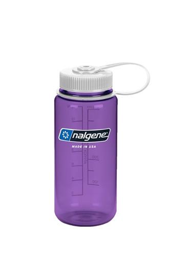 Бутылка для воды Nalgene Wide Mounth фиолетовая 500 мл. фото 1