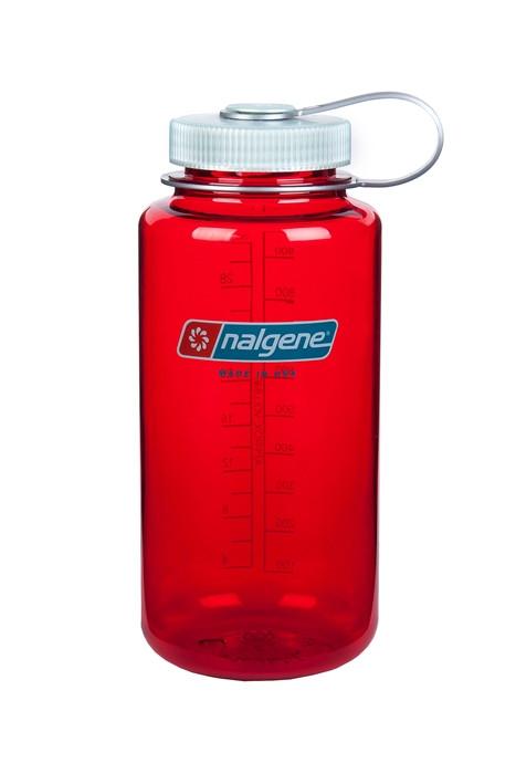 Бутылка для воды Nalgene Wide Mounth красная 500 мл. фото 1