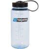 Бутылка для воды Nalgene Wide Mounth светло-синяя 500 мл. фото 1