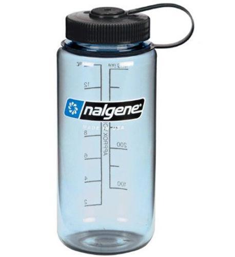 Бутылка для воды Nalgene Wide Mounth светло-синяя 500 мл. фото 2