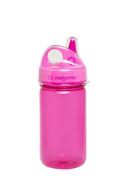 Бутылка для воды детская Nalgene Grip-n-Gulp розовая 350 мл. фото 1