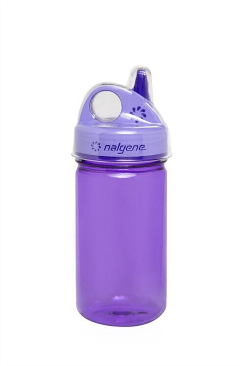 Бутылка для воды детская Nalgene Grip-n-Gulp фиолетовая 350 мл. фото 1