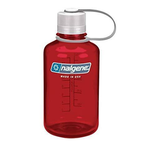 Бутылка для воды Nalgene Narrow Mounth Outdoor Red 500 мл. фото 1