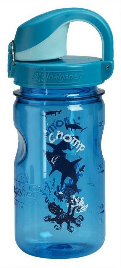 Бутылка для воды Nalgene OTF Kids 350 мл. Blue Slate-Chomp фото 2