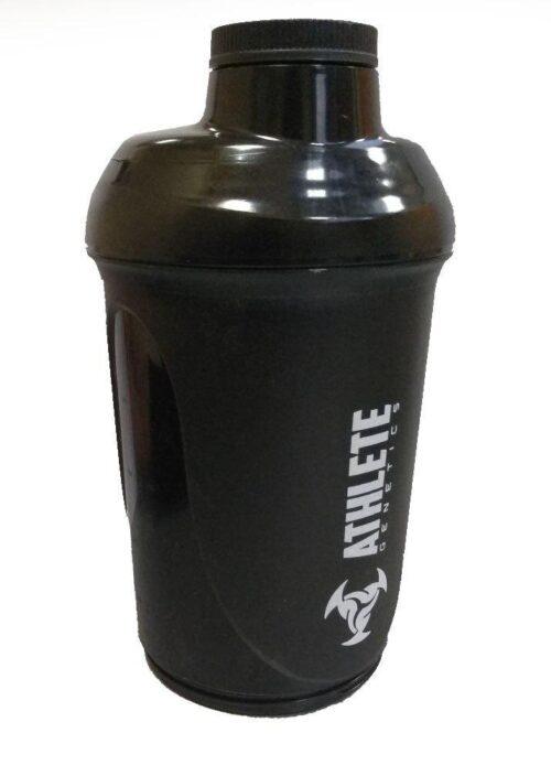Шейкер спортивный ShakerStore Wave + с 2-мя контейнерами Черный фото 3
