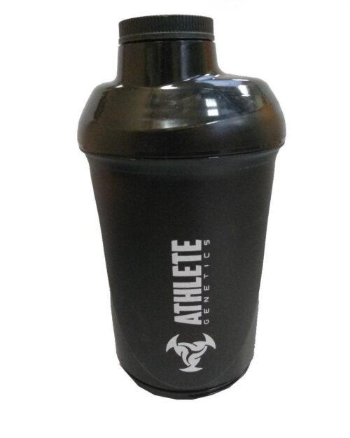 Шейкер спортивный ShakerStore Wave + с 2-мя контейнерами Черный фото 2