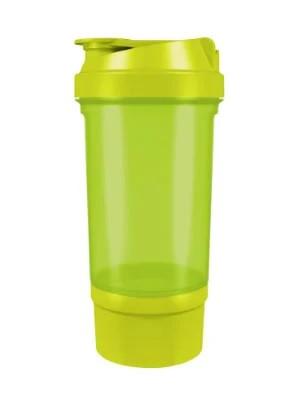 Шейкер спортивный Shake360 500 мл. с контейнером Green фото 1