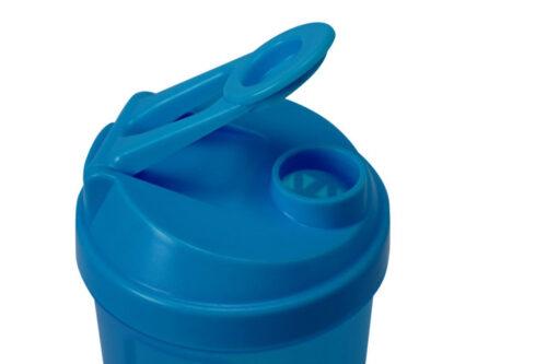 Шейкер спортивный Shake360 500 мл. с контейнером Синий фото 3