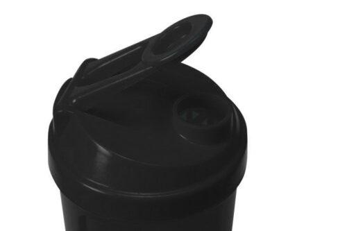 Шейкер спортивный Shake360 500 мл. с контейнером Черный фото 4