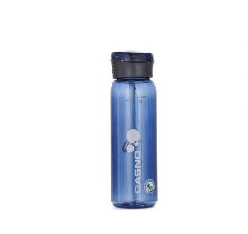 Пляшка для води CASNO 600 мл KXN-1211 Синя з соломинкою фото 2