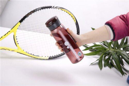 Пляшка для води CASNO 600 мл KXN-1211 Червона з соломинкою фото 7