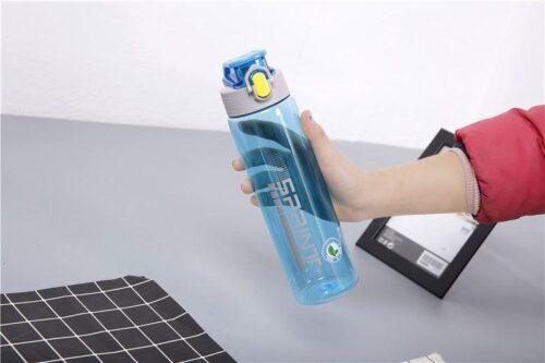 Пляшка для води CASNO 750 мл KXN-1216 Sprint Блакитна фото 3