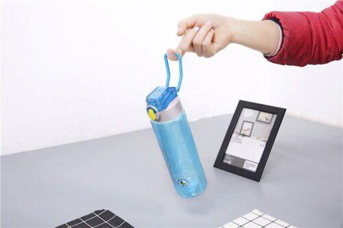 Пляшка для води CASNO 750 мл KXN-1216 Sprint Блакитна фото 4