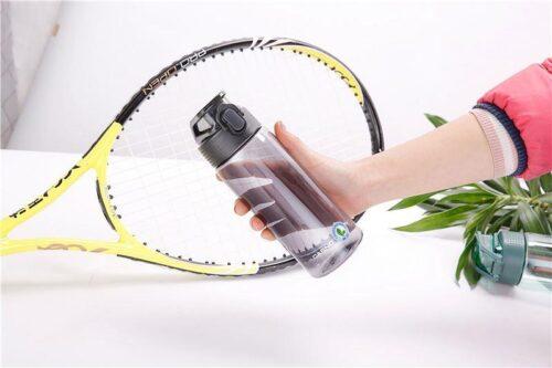 Пляшка для води CASNO 550 мл KXN-1215 Чорна фото 2