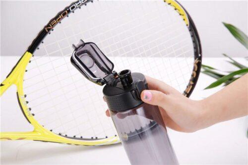 Пляшка для води CASNO 550 мл KXN-1215 Чорна фото 4
