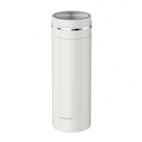 Термопляшка CASNO 450 мл KXN-6059 Біла фото 1