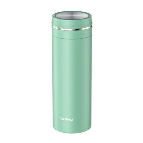 Термопляшка CASNO 450 мл KXN-6059 Зелена фото 1