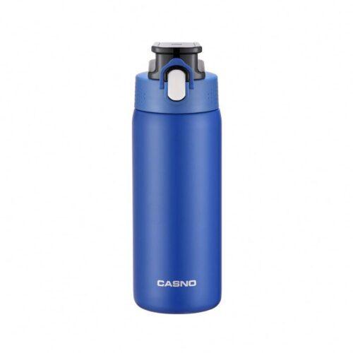 Термопляшка CASNO 450 мл KXN-6065 Синя фото 1