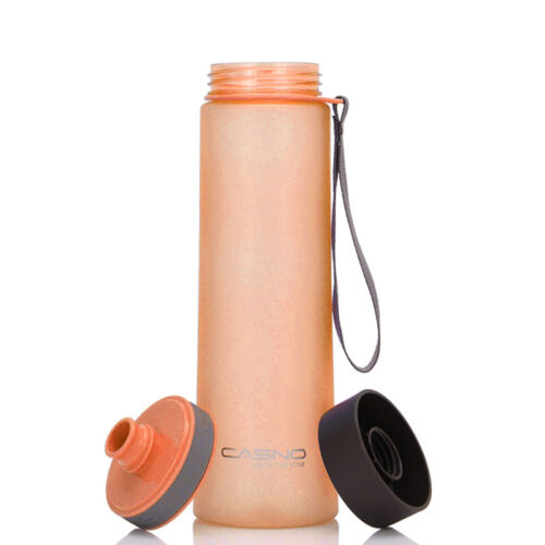 Пляшка для води CASNO 1000 мл KXN-1111 Помаранчева фото 7