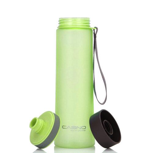 Пляшка для води CASNO 1000 мл KXN-1111 Зелена фото 5