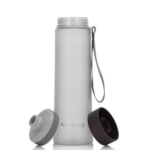 Пляшка для води CASNO 1000 мл KXN-1111 Сіра фото 3