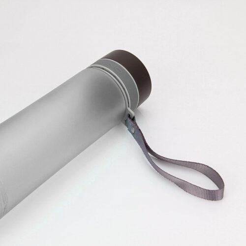 Пляшка для води CASNO 1000 мл KXN-1111 Сіра фото 6