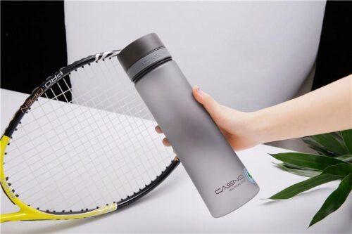 Пляшка для води CASNO 1000 мл KXN-1111 Сіра фото 4