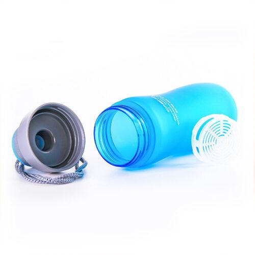 Пляшка для води CASNO 600 мл KXN-1116 Синя фото 2